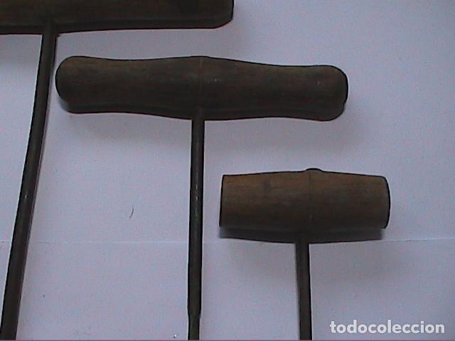 Antigüedades: LOTE DE 5 BERBIQUIS ANTIGUOS. MEDIADOS S.XX. - Foto 3 - 150540966