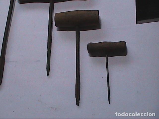 Antigüedades: LOTE DE 5 BERBIQUIS ANTIGUOS. MEDIADOS S.XX. - Foto 4 - 150540966