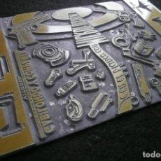 Antigüedades: PLANCHA DE IMPRESION (LITOGRAFIA/MICROFUSION)-GABILONDO Y COMPAÑIA. Lote 150596766