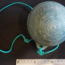 Antigüedades: BOYA PINCHO PARA REDES DE PESCA. 125M/M. PLÁSTICOS DE GALICIA, VIGO.. Lote 150597098