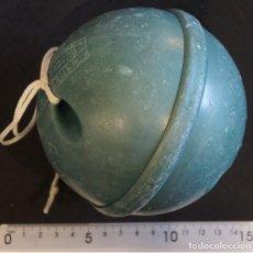 Antigüedades: BOYA PENEDO PARA REDES DE PESCA. 120 M/M. PLÁSTICOS DE GALICIA, VIGO.. Lote 150597310