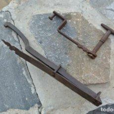 Antigüedades: FORJA, PESTILLO DE HIERRO . Lote 150599066