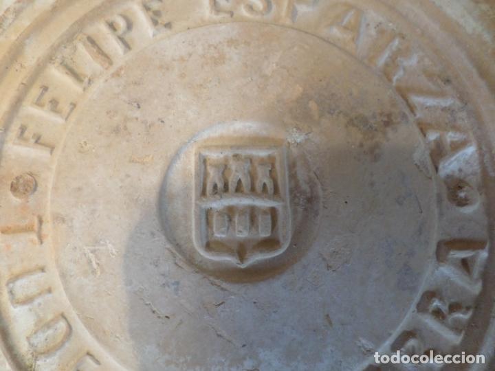 Antigüedades: BALDOSA BARRO FELIPE ESPARZA TUDELA NAVARRA - Foto 3 - 150646586