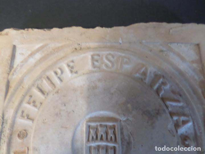 Antigüedades: BALDOSA BARRO FELIPE ESPARZA TUDELA NAVARRA - Foto 6 - 150646586