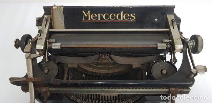 Antigüedades: 419-ANTIGUA MAQUINA DE ESCRIBIR MERCEDES MODEL 5 BUEN ESTADO GENERAL - Foto 3 - 150702818