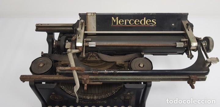 Antigüedades: 419-ANTIGUA MAQUINA DE ESCRIBIR MERCEDES MODEL 5 BUEN ESTADO GENERAL - Foto 5 - 150702818