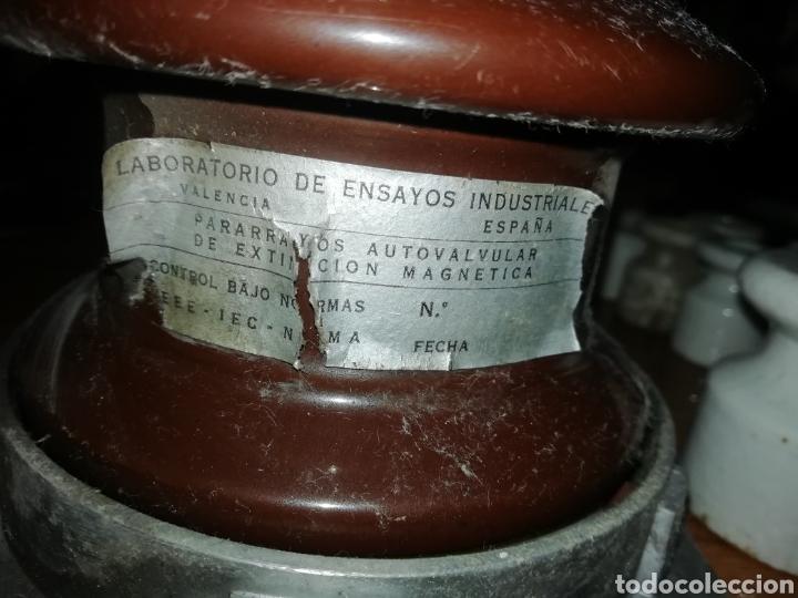 Antigüedades: Pararrayos autovalvula jicara AISLADOR - Foto 3 - 150706649