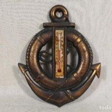 Antigüedades: TERMOMETRO - ANCLA - SALVAVIDAS. Lote 150714930