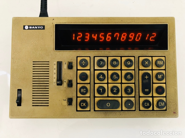 SANYO ICC-1122 (Antigüedades - Técnicas - Aparatos de Cálculo - Calculadoras Antiguas)