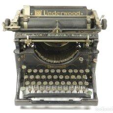 Antigüedades: MÁQUINA DE ESCRIBIR UNDERWOOD Nº5 AÑO 1924 TYPEWRITER SCHREIBMASCHINE. Lote 150841302