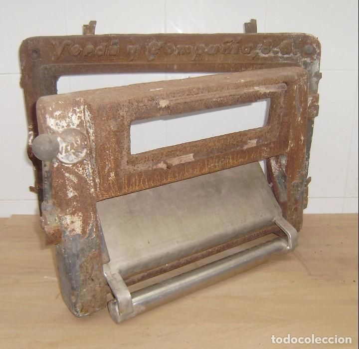 Antigüedades: Puerta de horno de panaderia - Verdu y compañia.Años 50. - Foto 4 - 150849786