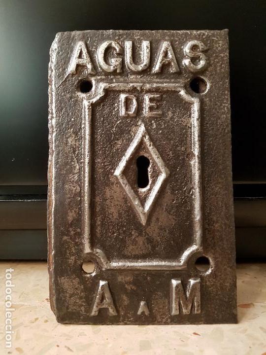 Antigüedades: Puerta contador AGUAS DE ARGENTONA A MATARÓ - Foto 2 - 150949466