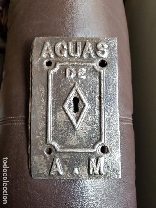 Antigüedades: Puerta contador AGUAS DE ARGENTONA A MATARÓ - Foto 3 - 150949466