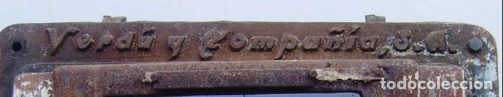 Antigüedades: Puerta de horno de panaderia - Verdu y compañia.Años 50. - Foto 5 - 150849786