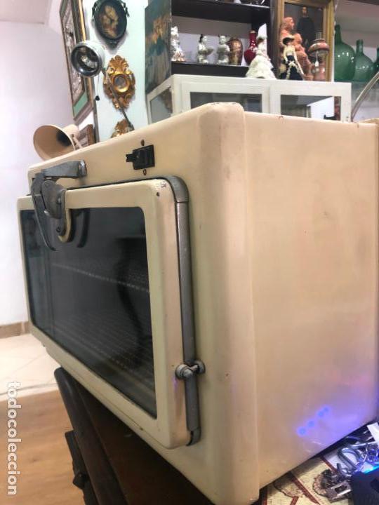 Antigüedades: ANTIGUO HORNO ESTILIZADOR MEDICO DENTISTA FUNCIONANDO - DECORACION INDUSTRIAL VINTAGE - 55X33X39 CM - Foto 9 - 151153198