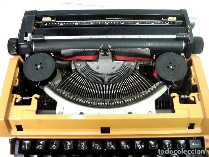 Antigüedades: MAQUINA ESCRIBIR ELECTRICA-BROTHER ELECTRIC 3600- JAPAN 1980 + MALETA TRANSPORTE - Foto 5 - 151161738