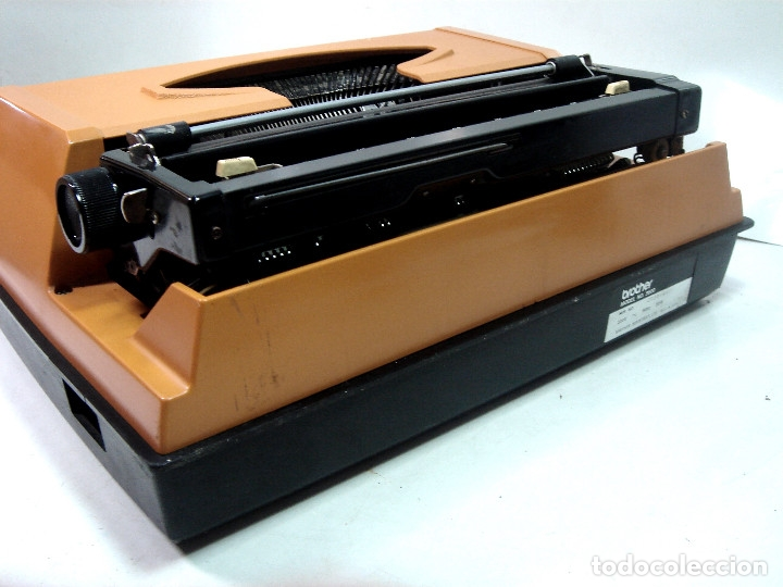 Antigüedades: MAQUINA ESCRIBIR ELECTRICA-BROTHER ELECTRIC 3600- JAPAN 1980 + MALETA TRANSPORTE - Foto 8 - 151161738