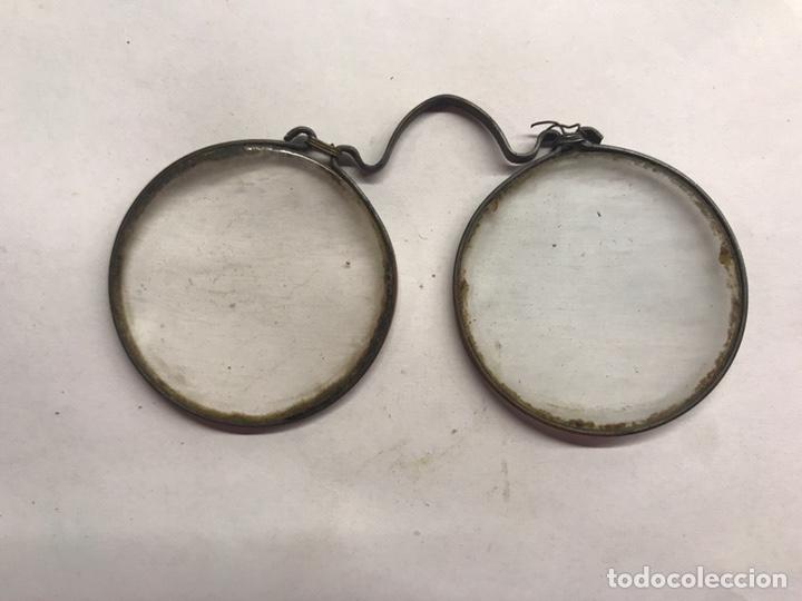 GAFAS. ANTEOJOS ANTIGUAS MODELO QUEVEDO (H.1890?) (Antiquitäten - Technische - Optische Instrumente - Antike Brillen)