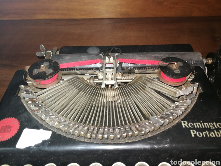 Antigüedades: Máquina de escribir Remington - Foto 2 - 151167789