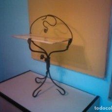 Antigüedades: RECIVIDOR DE FORJA HERRERO. Lote 151175998