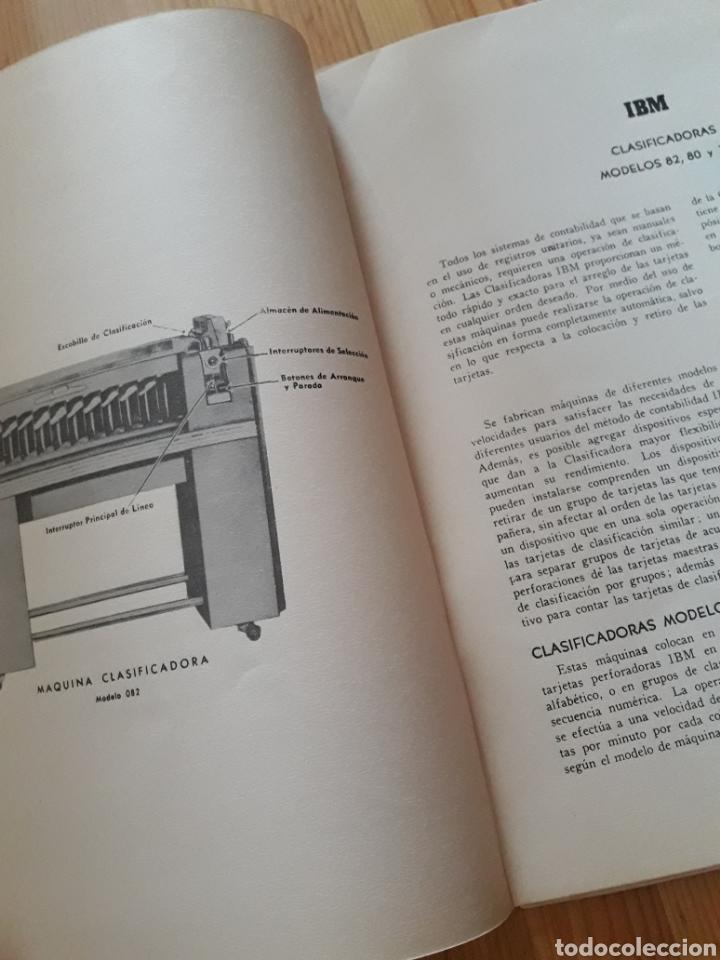 Antigüedades: IBM reproductora clasificadora calculadora perforadora inicio informatica años 40 50 libros - Foto 4 - 151243650