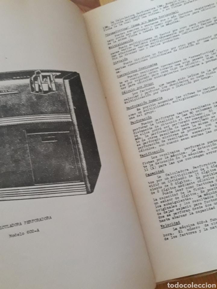 Antigüedades: IBM reproductora clasificadora calculadora perforadora inicio informatica años 40 50 libros - Foto 6 - 151243650