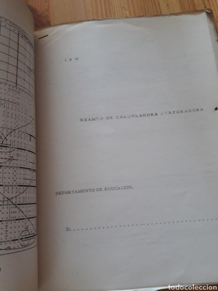 Antigüedades: IBM reproductora clasificadora calculadora perforadora inicio informatica años 40 50 libros - Foto 7 - 151243650