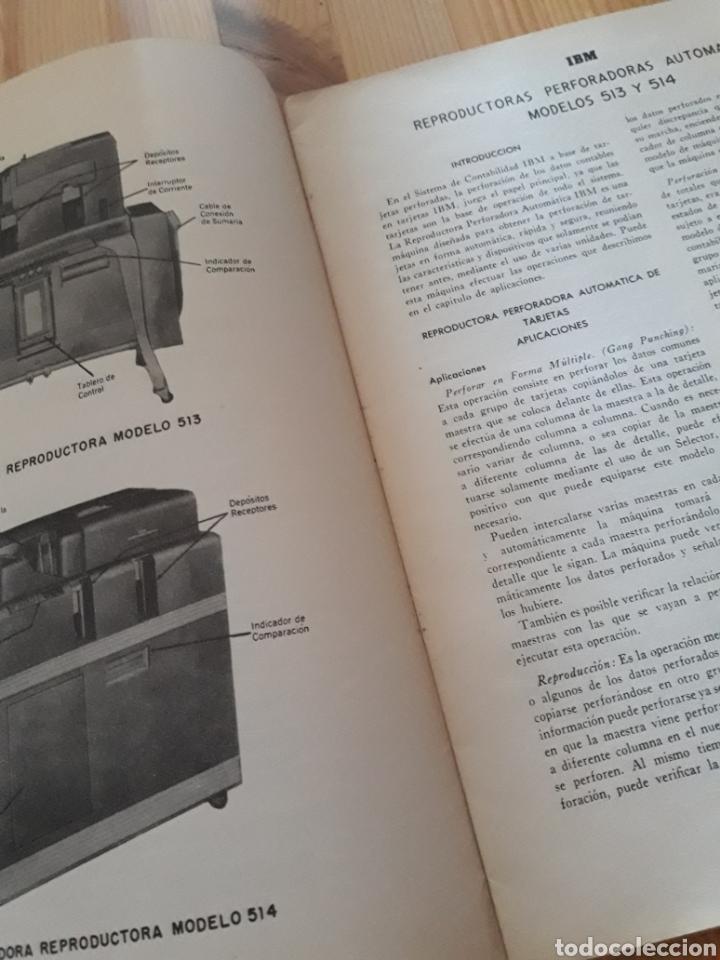 Antigüedades: IBM reproductora clasificadora calculadora perforadora inicio informatica años 40 50 libros - Foto 11 - 151243650