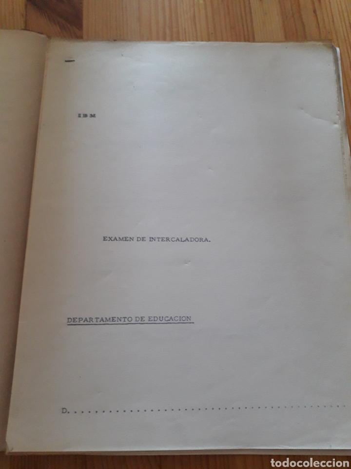 Antigüedades: IBM reproductora clasificadora calculadora perforadora inicio informatica años 40 50 libros - Foto 12 - 151243650