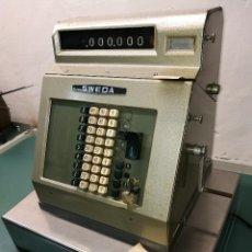 Antigüedades: CAJA REGISTRADORA SWEDA MODELO M241G DE 1966- MADE SWEDEN-SUECIA ESCANDINAVO..REF-D. Lote 151293462