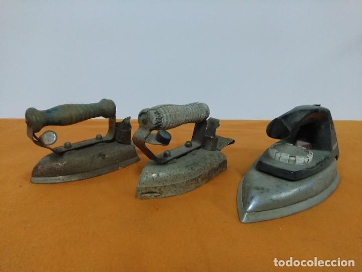 ANTIGUAS PLANCHAS ELECTRICAS (Antigüedades - Técnicas - Planchas Antiguas - Eléctricas)