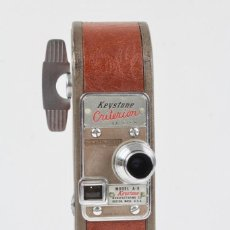 Antigüedades: CAMARA DE CINE 16 MM MARCA KEYSTONE CRITERION MODEL A-9 .MADE IN USA.AÑOS 40-50.. Lote 151368650