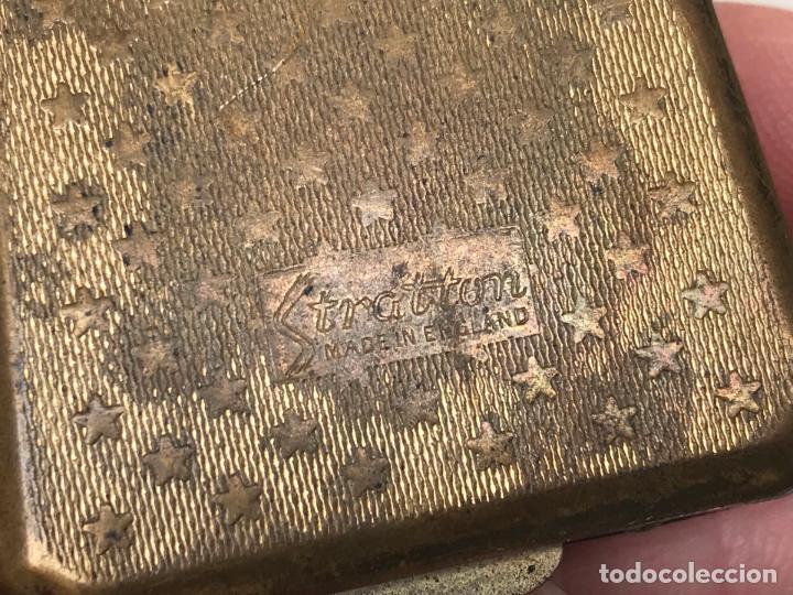 Antigüedades: ANTIGUO ESTUCHE PARA LENTILLAS ESMALTADA STRATTOM - Foto 2 - 151488142