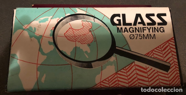 Antigüedades: Lupa, glass magnifyng en su caja original - Foto 3 - 151627905