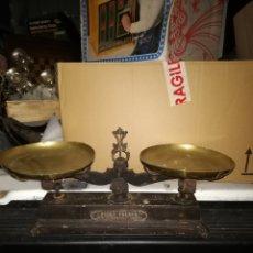Antigüedades: ESPECTACULAR BALANZA ALLEZ FRERES PARIS SIGLO XIX 10K DE PESA. Lote 151636248