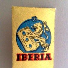 Antigüedades: HOJA DE AFEITAR ANTIGUA,IBERIA CÉFIRO-DORADA. Lote 151710386