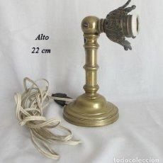 Antigüedades: LAMPARA DE CAMAROTE DE BARCO ANTIGUA RARA APLIQUE. Lote 175456110