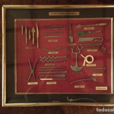 Antigüedades: ESPECTACULAR COLECCIÓN DE INSTRUMENTAL QUIRÚRGICO ANTIGUO. Lote 151898880