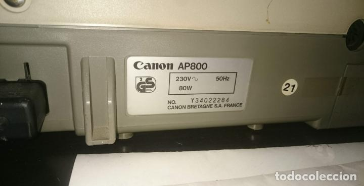 Antigüedades: CANON AP 800 - Foto 6 - 151993478