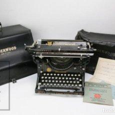 Antigüedades: ANTIGUA MÁQUINA DE ESCRIBIR UNDERWOOD - UNDERWOOD STANDARD TYPEWRITER Nº 3, 12 IN. - C. 1903 - #E01. Lote 151995250
