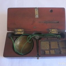 Antigüedades: QUILATERO ANTIGUO BALANZA. Lote 152012810