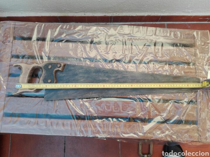 SERRUCHO SIERRA DE LAMINA USADO (Antigüedades - Técnicas - Herramientas Profesionales - Carpintería )