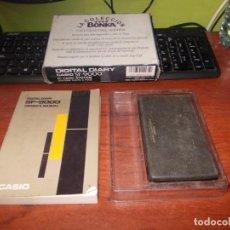 Antigüedades: DIGITAL DIARY CASIO SF-9000, EN CAJA Y CON MANUAL ESPAÑOL/INGLÉS. DEFECTO. Lote 152120066