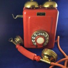 Teléfonos: ANTIGUO TELÉFONO METÁLICO, CAMPANAS EXTERNAS, DE STANDARD ELÉCTRICA, PARA LA CTNE.. Lote 152182954