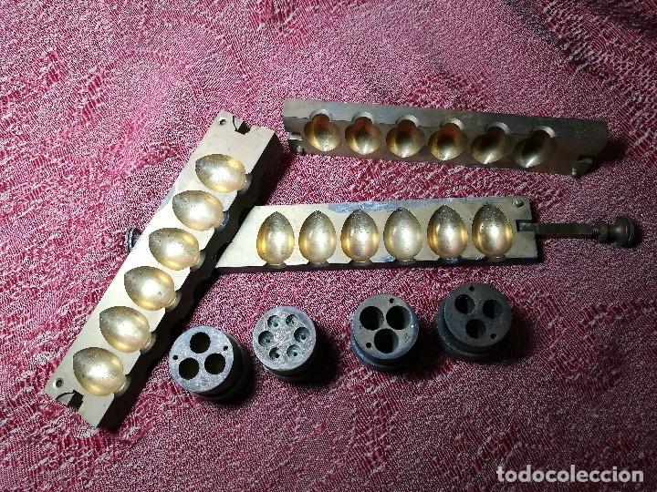 Antigüedades: molde de laton macizo para farmacia (supositorios y ovulos) LOTE 5 MOLDES-SEGAUD COURBEVOIE SEINE - Foto 6 - 152205418