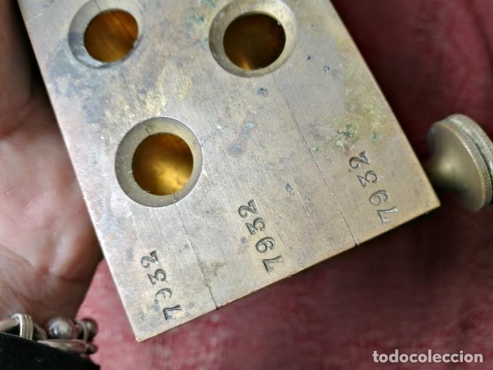 Antigüedades: molde de laton macizo para farmacia (supositorios y ovulos) LOTE 5 MOLDES-SEGAUD COURBEVOIE SEINE - Foto 22 - 152205418