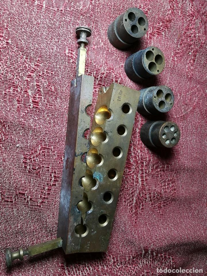 Antigüedades: molde de laton macizo para farmacia (supositorios y ovulos) LOTE 5 MOLDES-SEGAUD COURBEVOIE SEINE - Foto 30 - 152205418