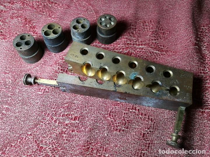 Antigüedades: molde de laton macizo para farmacia (supositorios y ovulos) LOTE 5 MOLDES-SEGAUD COURBEVOIE SEINE - Foto 31 - 152205418