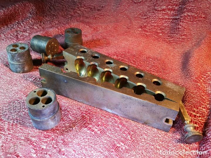 Antigüedades: molde de laton macizo para farmacia (supositorios y ovulos) LOTE 5 MOLDES-SEGAUD COURBEVOIE SEINE - Foto 32 - 152205418