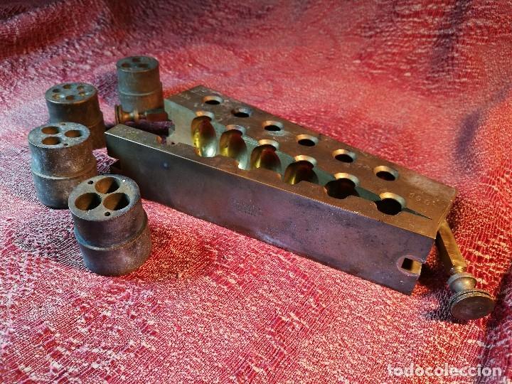 Antigüedades: molde de laton macizo para farmacia (supositorios y ovulos) LOTE 5 MOLDES-SEGAUD COURBEVOIE SEINE - Foto 34 - 152205418